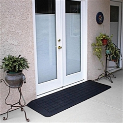 Premium Rubber Wide Threshold Ramp