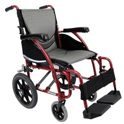 Karman S-Ergo 115-TP Lightweight Folding Transport Wheelchair
