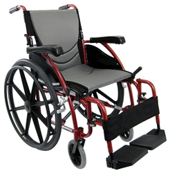 S-Ergo 115 Lightweight Folding Wheelchair