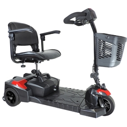 Drive Medical Spitfire Scout 3 Wheel Travel Power Scooter