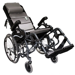 Karman Healthcare Tilt-in-Space Foldable Wheelchair