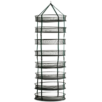 STACK!T Collapsible Mesh Drying Rack w/Clips 2 ft