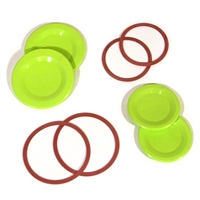 Tattler E-Z Seal Canning Lids/Rings