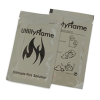 Utility Flame 37 ml (1.25 oz) Gel Pouch - Case of 200