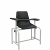 Winco 2571 Phlebotomy Chair - Plastic Seat