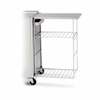 Hydrocollator Side Table Rack