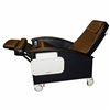 Winco 6750 Bariatric Swing-Away Arm Designer CareCliner