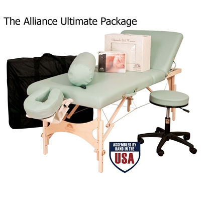 Oakworks Alliance Wood Massage Table Packages
