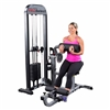 Body Solid Pro Select AB and Back Machine