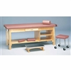 Bailey Treatment Table - Drawer & Shelf