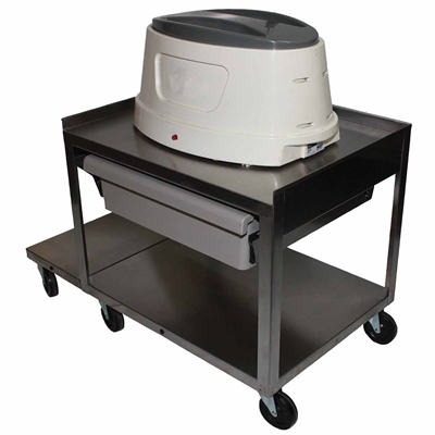 Ideal PC21D Stainless Utility Cart for Paraffin Baths