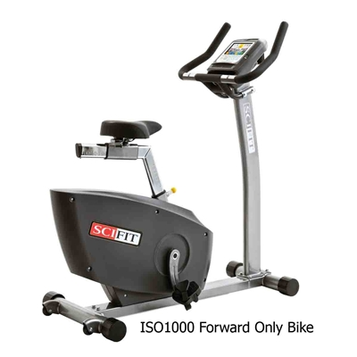 SCIFIT ISO1000 & ISO7000 Upright Bikes