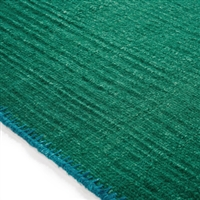 Elitis Atacama Mint Green.  100% linen green textured area rug.  Click for details and checkout >>