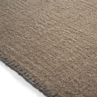 Elitis Atacama Desert.  100% linen oatmeal textured area rug.  Click for details and checkout >>
