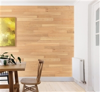 Light Brown Wood Real Wood Peel and Stick Wall Planks.  Click for details and checkout >>