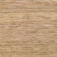 Elitis Panama VP 710 07.   Harvest brown infused color sisal stripe vinyl textured wallpaper.  Click for details and checkout >>