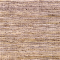 Elitis Panama VP 710 10.   Lilac infused color sisal stripe vinyl textured wallpaper.  Click for details and checkout >>