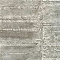 Elitis Anguille VP 424 05.  Pewter Faux Eel Skin Wallpaper.  Click for details and checkout >>