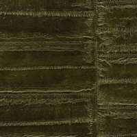 Elitis Anguille VP 424 10.  Seaweed Green Faux Eel Skin Wallpaper.  Click for details and checkout >>