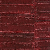 Elitis Anguille VP 424 16.  Purple Red Faux Eel Skin Wallpaper.  Click for details and checkout >>