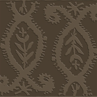 Elitis Alliances RM 746 68.  Chocolate Brown Acoustical Wallpaper.  Click for details and checkout >>