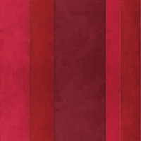 Elitis Tempo TP 210 03.  Red Multi Colored Wide Stripe Wallpaper.  Click for details and checkout >>