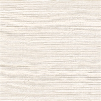Elitis Panama VP 711 01.  Cream solid color horizontal linen textured wallpaper.  Click for details and checkout >>