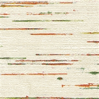 Elitis Talamone VP 851 01.  Multi color horizontal stripe wallpaper.  Click for details and checkout >>