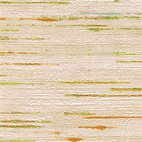 Elitis Talamone VP 851 02.  Multi color horizontal stripe wallpaper.  Click for details and checkout >>