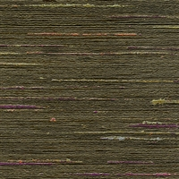 Elitis Talamone VP 851 07.  Forest green multi color horizontal stripe wallpaper.  Click for details and checkout >>