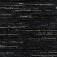 Elitis Talamone VP 851 12.  Midnight black multi color horizontal stripe wallpaper.  Click for details and checkout >>