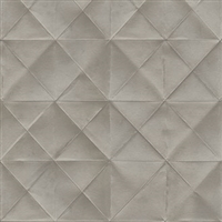 Elitis Pleats TP 170 03.  Gray Diamond Wallpaper.  Click for details and checkout >>