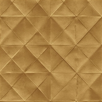Elitis Pleats TP 170 05.  Golden Diamond Wallpaper.  Click for details and checkout >>