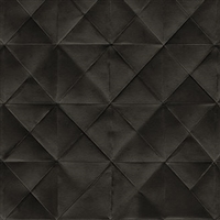 Elitis Pleats TP 170 13.  Black Diamond Tufted Wallpaper.  Click for details and checkout >>