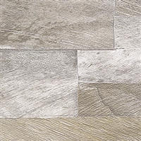 Elitis Nomades VP 893 52.  Reclaimed Silver White Washed Wood Plank Wallpaper. Click for details and checkout >>