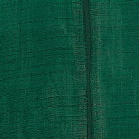 Elitis Nomades VP 895 61.  Forest green and black stripe silk and linen weave vinyl wallpaper for a wall. Click for details and checkout >>
