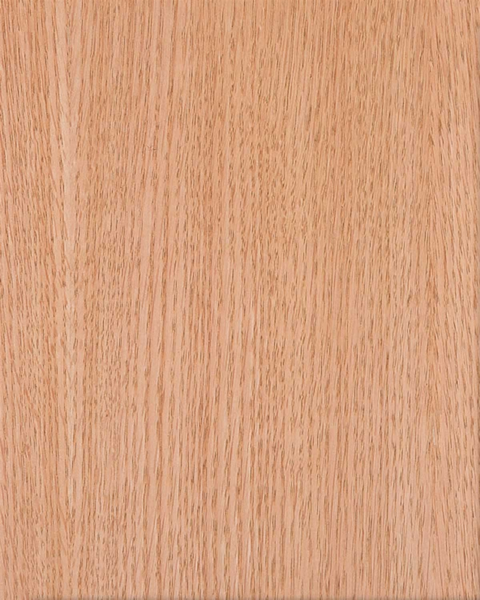 Red oak wallpaper for a wall flexible wood veneer