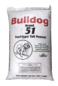 Bulldog 51 Tall Fescue - 50 Lbs.