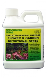 Chelated Flower & Garden Nutritional Spray - 1 Pt.