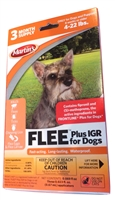 Flee Plus IGR for Dogs (4-22 Lbs.) - 3 Month Supply