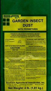 Garden Insect Dust Permethrin - 4 Lbs.