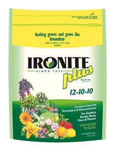 Ironite Plus 12-10-10 Lawn & Plant Food - 3 Lbs.