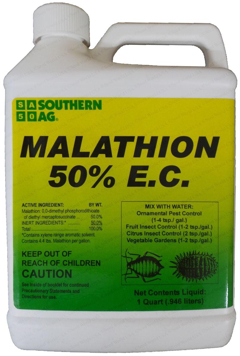 Malathion 50% E... Moss Plant Labeled