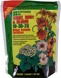 Start, Root, and Bloom 10-30-20 Soluble Fertilizer - 25 Lbs.