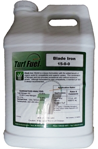 Turf Fuel Blade 6% Iron Liquid Turf Fertilizer - 2.5 Gal.