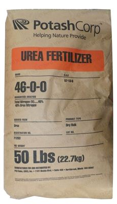 Urea 46% Nitrogen Fertilizer 46-0-0 Granular - 50 Lbs.