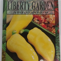 Yellow Banana Pepper Seeds - 1 Packet