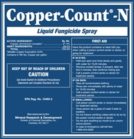 Copper Count N Fungicide - 2.5 Gallons