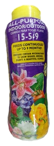 Dynamite All-Purpose Select Indoor/Outdoor Plant Food 15-5-9 - 2 Lbs.