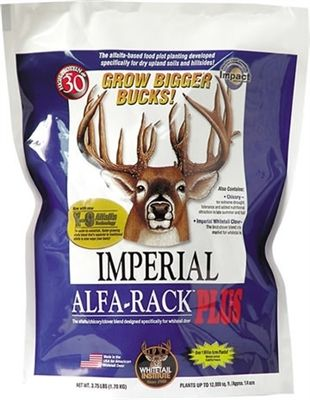 Imperial Whitetail Alfa-Rack Plus Seed - 3.75 Lbs.